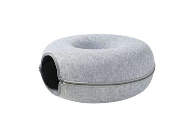Four Seasons Universal Felt Pet Cave Tunnel Type Double Layer Compound Design