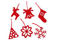 Hanging Decorative Kids 10CM Felt Christmas Ornaments